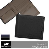 Braun buffel Small Gold Wallet jimmy Series 6 Card Left the Zero Money Bag bf315
