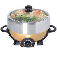 Europace ESB3391S Deluxe Steamboat with Grill 4L