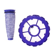 2pcs Front with Rear Vacuum Cleaner Spare Part Replacement Filter Accessories for Dyson DC50