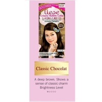 [Liese]Creamy Bubble Hair Color Classic Chocolat