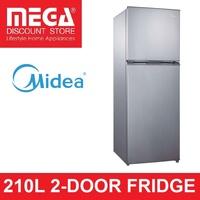 MIDEA 210L (Gross) MD212 2-Door Fridge (2 Ticks)