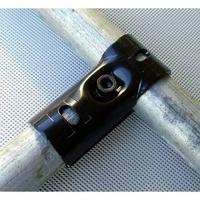 <限時特價>25mm圓管接頭鍍鋅管連接件6分管卡扣鋼管接頭鐵通固定夾