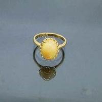 แหวนทอง14 เค แต่งโอปอลแท้ 2.5กะะรัต (14K Gold Ring / 2.5ct Opal)