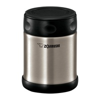 Zojirushi Stainless Steel Food Jar (Stainless) - Lunch Kit 0.35L