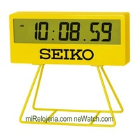 QHL073Y NEW Seiko Digital Wall/Stand Clock With Stand