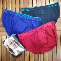 renoma underwear cotton stretch size XL กล่องละ 3 ตัว