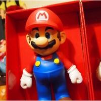 》Super Mario 超級瑪莉 瑪莉兄弟 馬力歐 9吋 23cm 袋裝公仔 瑪莉歐遊戲