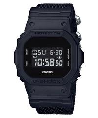 Casio G-Shock Special Color models Black Cordura®* Nylon Strap Watch DW5600BBN-1D