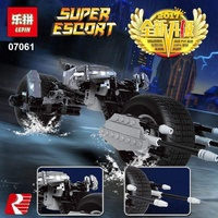 乐拼07061 Batman motorcycle building blocks Children's educational assembling toys LEPIN Blocks