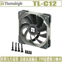 利民 Thermalright TL-C12 12公分 風扇 PWM 溫控 C12