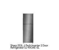 Sharp 253L 2 Door Inverter Fridge SJ-RX34E-SL