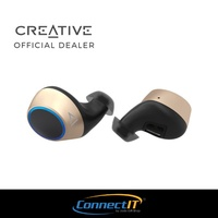 ( PRE-ORDER) Creative Outlier Gold Truly Wireless Bluetooth V5.0 Earbuds (Ships From End July)