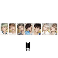 BTS Lights Boy With Luv PVC Clear Photo Card Collective Cards HD Photocard