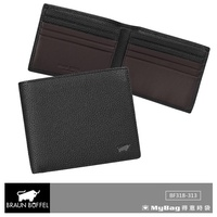 Braun buffel Small Gold Cow Wallet mick Series 8 Card Ready Stock bf318 Happy