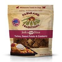 ▶$1 Shop Coupon◀  Farmland Traditions USA Made 3 lbs. Turkey, Sweet Potato, Cranberry Soft Jerky Bit