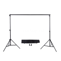 2 * 3m / 6.6 * 9.8ft Adjustable Background Support Stand Photo Backdrop Cro