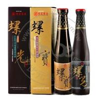 丸莊金饌玉釀禮盒(螺光蔭油膏+螺寶蔭油清)x1 - 丸莊