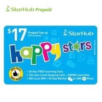 Starhub Happy Star 17 Prepaid Top-Up