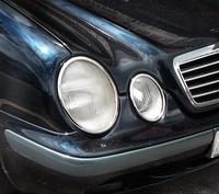 探金賓士 CLK class W208 鍍鉻大燈框 CLK200 CLK230 CLK320 CLK430 CLK55