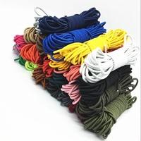 超值熱賣199出貨3mm彩色圓松緊彈力繩松緊帶收腰彈力繩扣眼扣抽繩鞋帶松緊繩