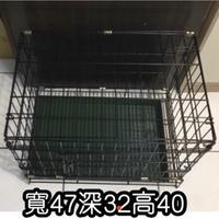 🌸SnowYarn🌸二手9.9成新寵物籠1.5尺寬47x深32x高40cm物件實拍狗籠貓籠兔籠鼠籠寵物籠