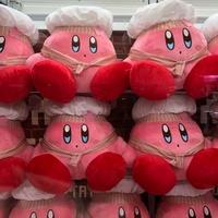 日本進口正版 卡比之星 廚師卡比 大娃娃 Kirby 任天堂