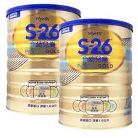 【惠氏】S-26 金幼兒樂幼兒成長配方奶粉1-3歲 1600gx2罐《大樹健康購物網》