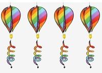 熱氣球風條  / 彩虹 / 螺旋風條 / 露營裝飾 / ZC-001