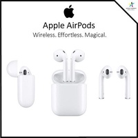 New Original Apple AirPods with Charging Case White MMEF2AM/A Airpod 1st Gen