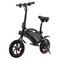 DYU D1 Standard Type 12 Inches Electric Bicycle Smart Folding Water Proof Intelligent Control Bike