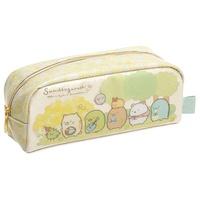 【角落生物鉛筆袋】角落生物 鉛筆盒 鉛筆袋 收納袋 貓咪三兄弟 日本正版 該該貝比日本精品 ☆