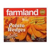[Bundle of 6 Packets] Farmland Spicy Wedges 6x500g