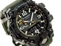 🔥🔥100% Authentic Casio Triple Sensor Mudmaster GWG1000 Olive Green Tough Solar with FREE DELIVERY 📦 G-Shock
