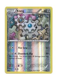Pokémon Single Card - Klang 72/114 - XY STEAM SIEGE - Reverse Holo - intl