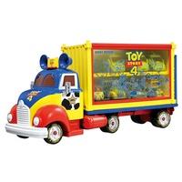 TOMICA 多美小汽車 迪士尼 玩具總動員4 貨櫃收納車 (內不附小車) 【鯊玩具Toy Shark】