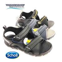 Schollรุ่นZest(223) สีดำ ,  ดำเหลือง  รองเท้ารัดส้นสกอลล์ สินค้าลิขสิทธ์แท้ สำหรับทั้งหญิงและชาย
