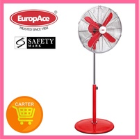 EUROPACE ERF7161T(RED) 16IN RETRO STAND FAN