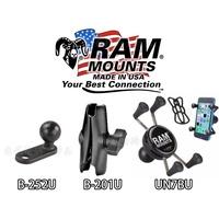 RAM Mounts 手機架 後照鏡 機車 車架 MSX 125 NC750 CB650F VFR800 CB1100