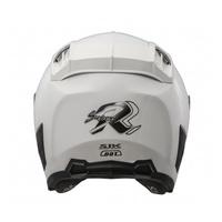 SBK SUPER RR /亮白 / 半罩 / 輕量化 / 安全帽 / 內襯全可拆 / 雙D扣環  【歐樂免運】