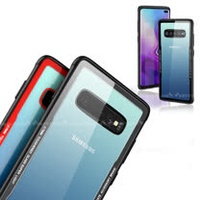 MOST三星 Samsung Galaxy S10+/S10 Plus 強化玻璃防刮手機殼 保護殼 有吊飾孔