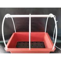 48L水耕LED燈種植槽/陽台/無土栽培/蔬菜 /水耕組合魚菜共生槽、強化塑膠桶、水槽、養殖槽、運輸桶【水耕魚】