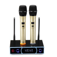 VHF Wireless Microphone Wireless Microphone System Family Video Karaoke Power Amplifier System