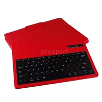 PCER◆12.9in Wireless Keyboard Removable PU Leather Cover Slim Protective Case For iPad Pro