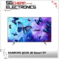 SAMSUNG QA55Q6FNAKXXS QLED 4K Smart TV  - Singapore Warranty