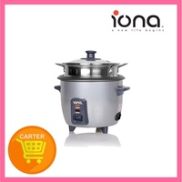 IONA 0.6L Rice Cooker & Warmer with Steamer GLRC061