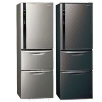 Panasonic國際牌變頻三門電冰箱385公升NR-C389HV-S/NR-C389HV-K星空黑