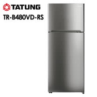 【TATUNG 大同】 480L雙門變頻冰箱 TR-B480VD 含基本安裝