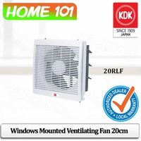 KDK Window Mounted Ventilating Fan 20cm 20RLF (For Home Use) * Without INSTALLATION*