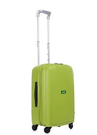 Lojel Streamline Polypropylene Small Upright Spinner Luggage, Green, One Size