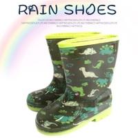 【CROWN JEWELS 皇力牌】侏羅紀小恐龍兒童彩色雨鞋(環保無毒)